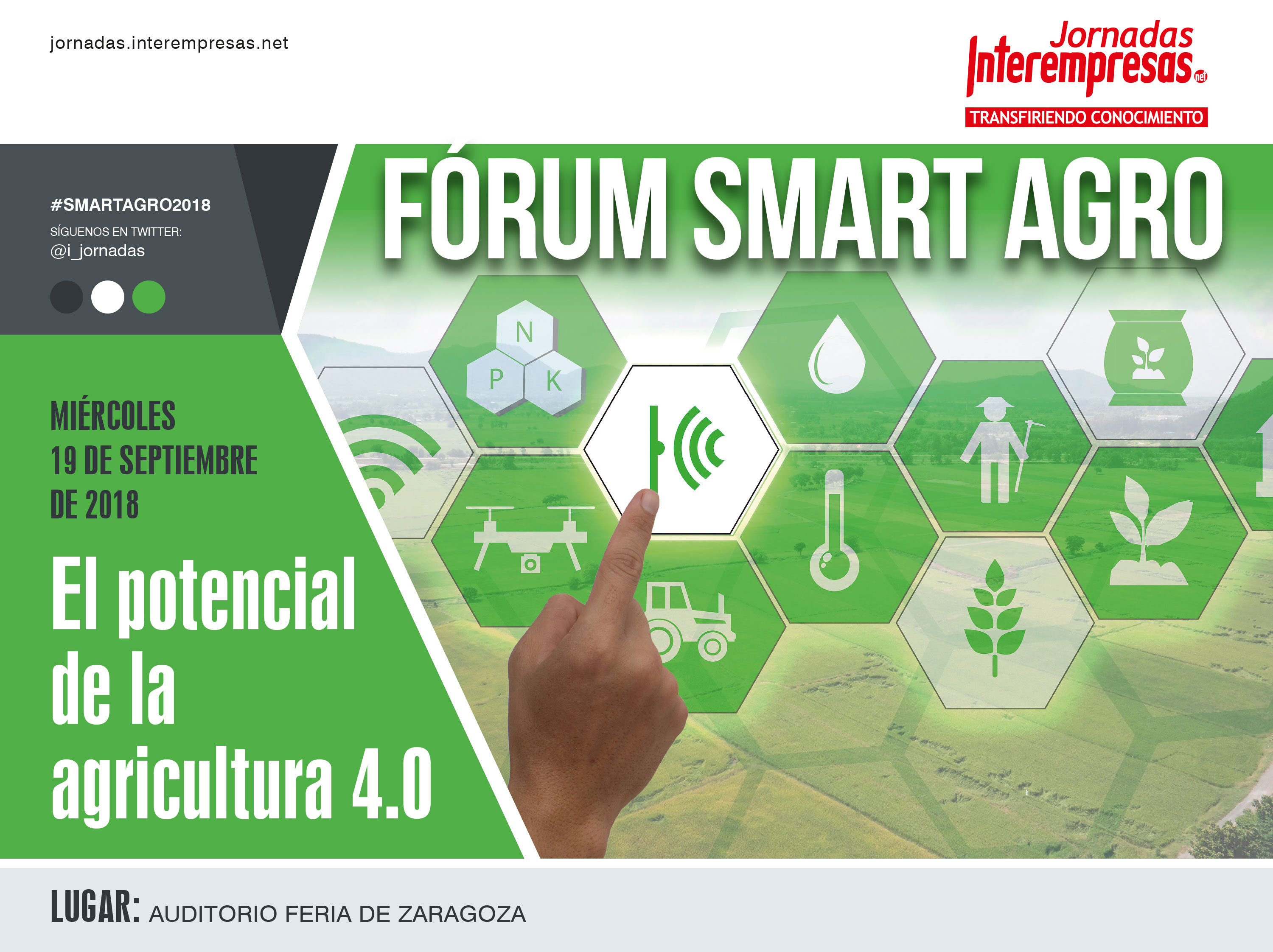 cartel de Fórum Smart Agro 2018