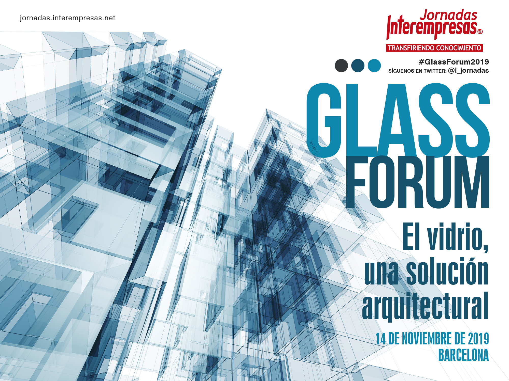 cartel de Glass Forum