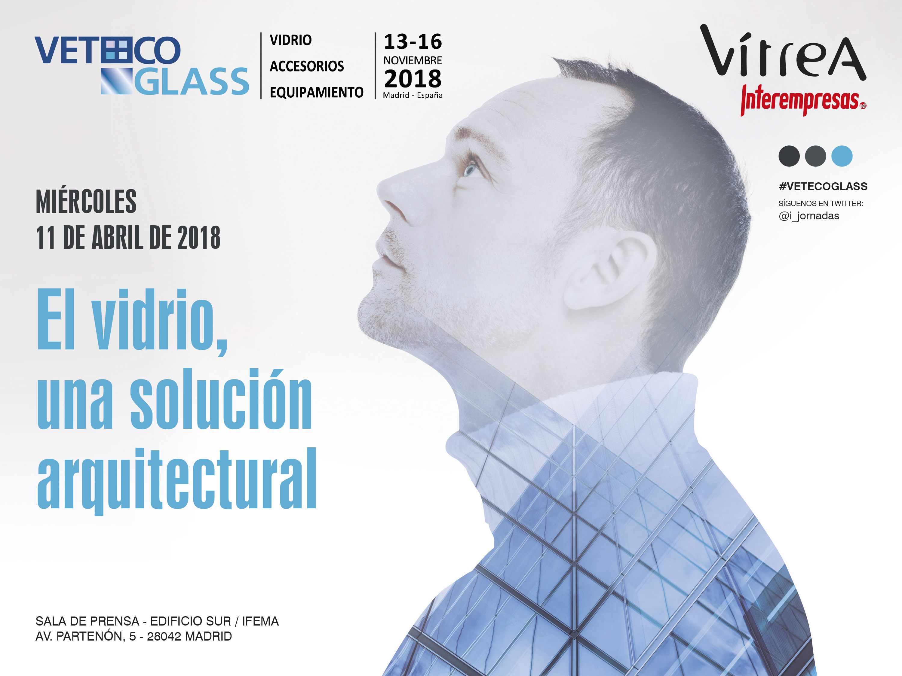 cartel de Jornada Veteco Glass Madrid